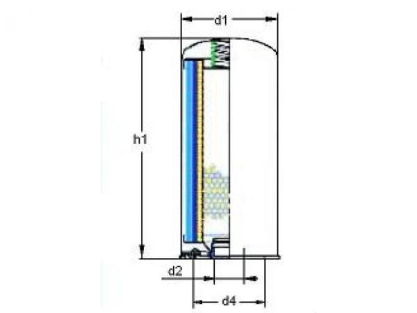 Separator puszkowy - wymiary