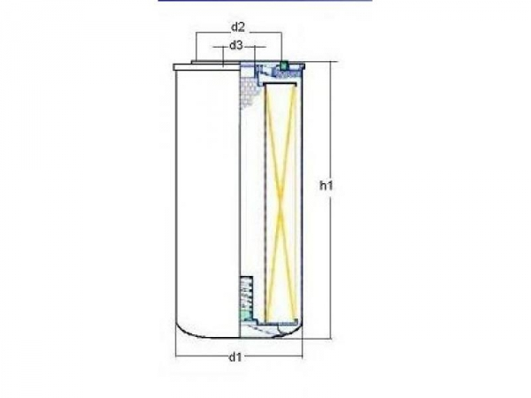Filtr oleju wymiary