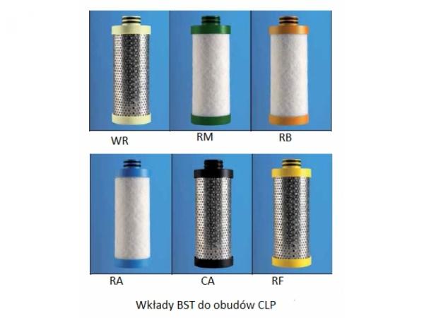 Wkłady filtrów BSP do obudów CLP