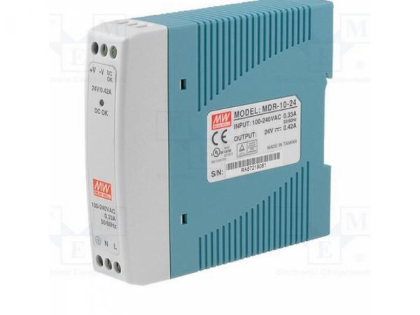 Zasilacz impulsowy 24VDC; 10W